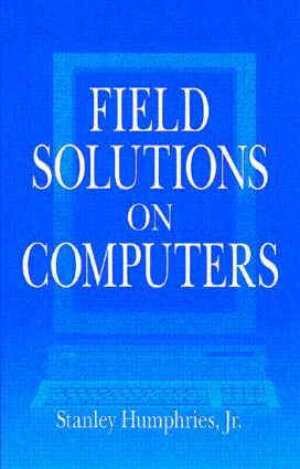 Field Solutions on Computers: 1st Edition (Hardback) book cover