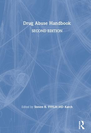 Drug Abuse Handbook: 2nd Edition (Hardback) book cover
