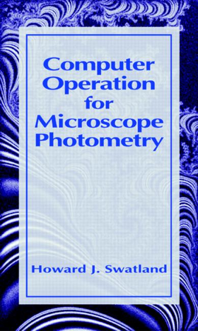 Computer Operation for Microscope Photometry: 1st Edition (Hardback) book cover