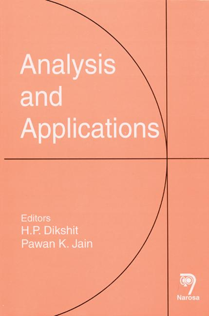Analysis and Applications: 1st Edition (Hardback) book cover