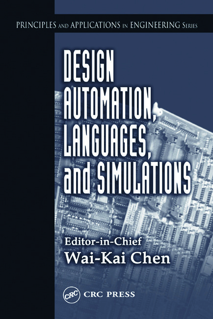 Design Automation, Languages, and Simulations: 1st Edition (Hardback) book cover