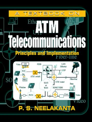 A Textbook on ATM Telecommunications: Principles and Implementation, 1st Edition (Hardback) book cover