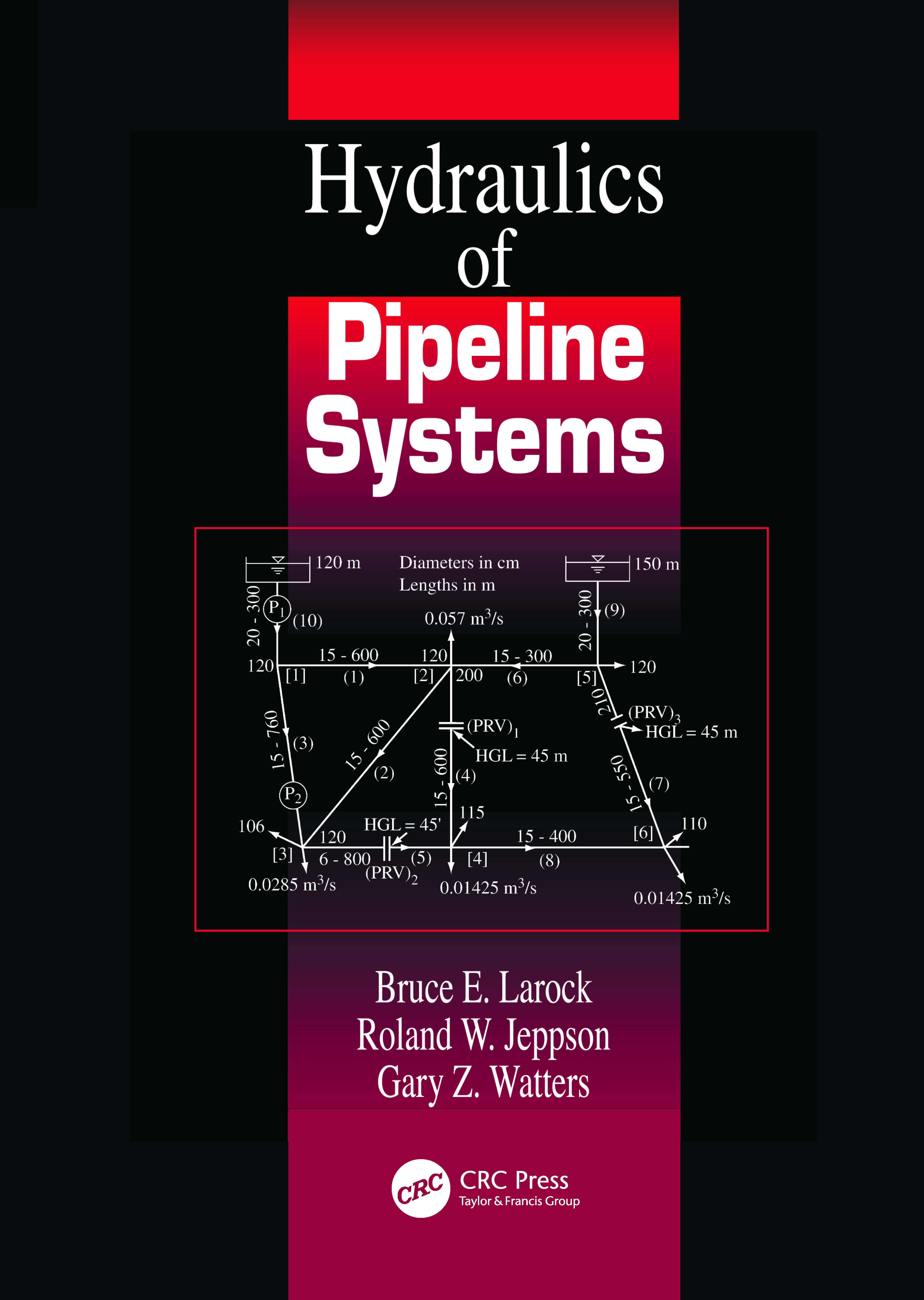 Hydraulics of Pipeline Systems: 1st Edition (Hardback) book cover