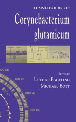 Handbook of Corynebacterium glutamicum: 1st Edition (Hardback) book cover