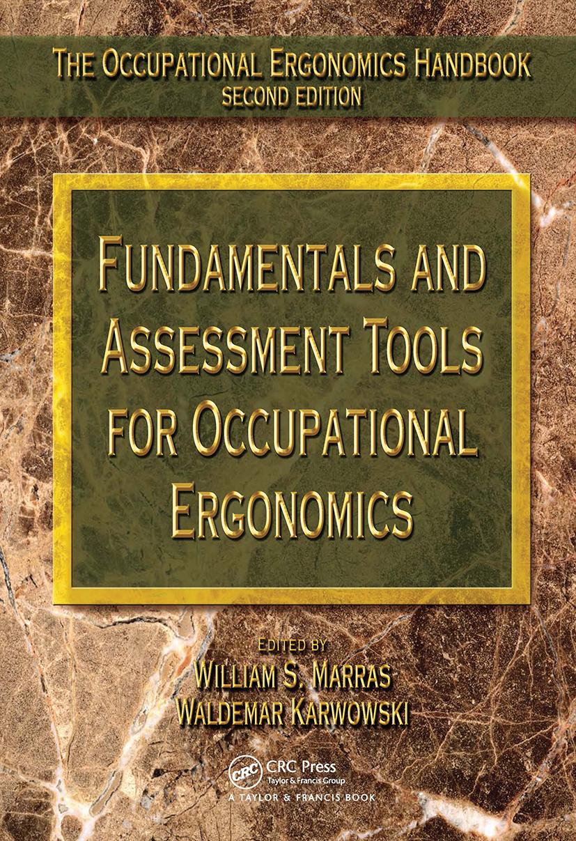 Fundamentals and Assessment Tools for Occupational Ergonomics book cover