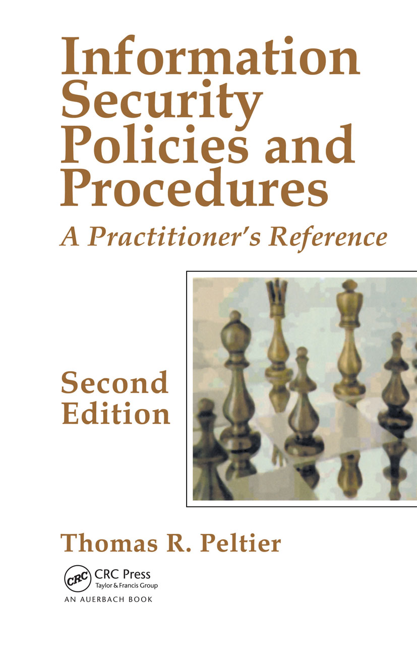 Information Security Policies and Procedures: A Practitioner's Reference, Second Edition, 2nd Edition (Hardback) book cover