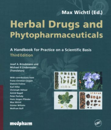 Herbal Drugs and Phytopharmaceuticals, Third Edition: 3rd Edition (Hardback) book cover