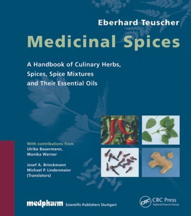 Medicinal Spices: 1st Edition (Hardback) book cover