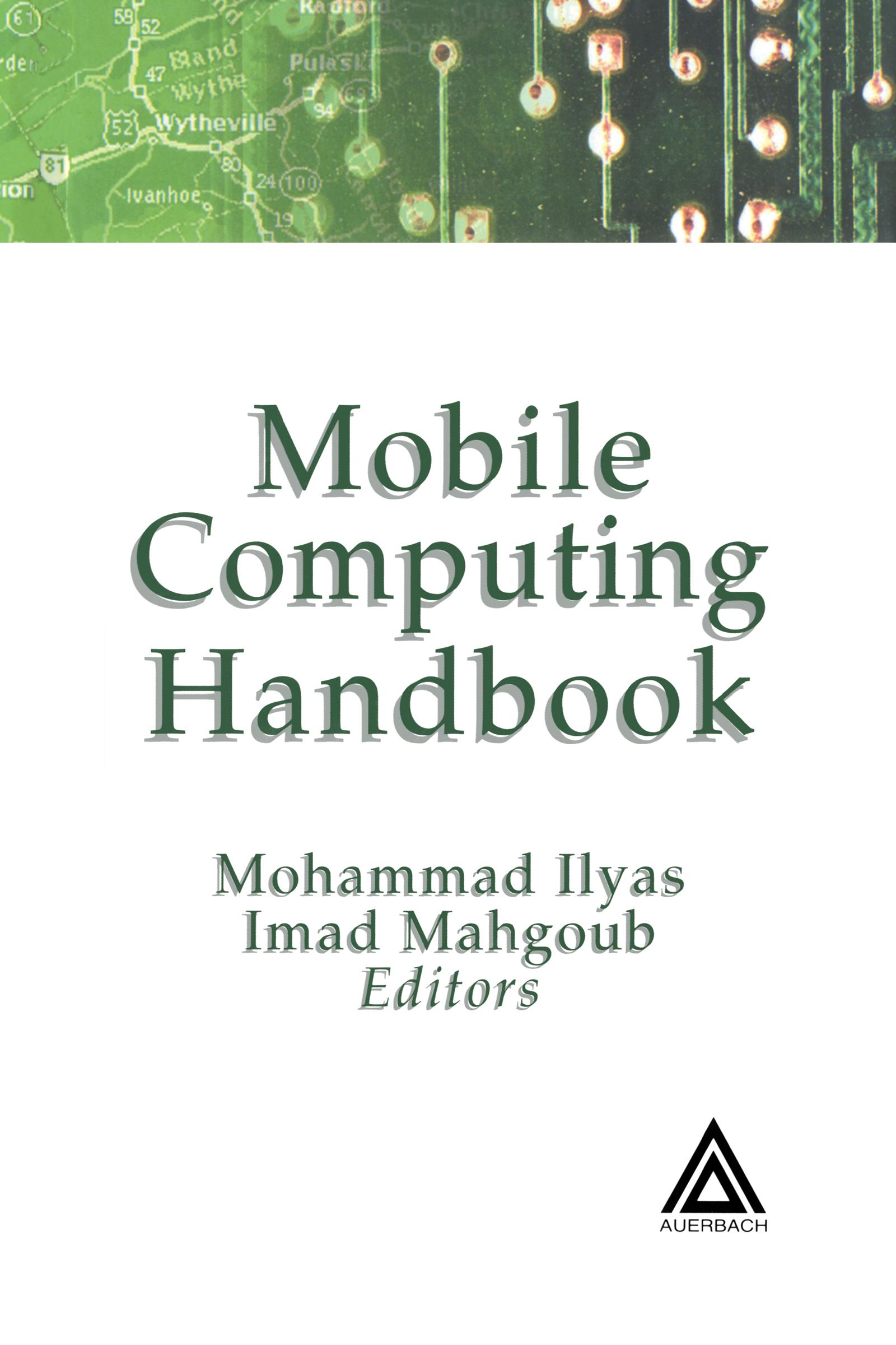 Mobile Computing Handbook: 1st Edition (Hardback) book cover