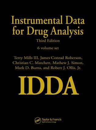 Instrumental Data for Drug Analysis, Third Edition - 6 Volume Set: 3rd Edition (Hardback) book cover