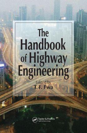 The Handbook of Highway Engineering: 1st Edition (Hardback) book cover