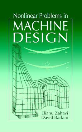 Nonlinear Problems in Machine Design: 1st Edition (Hardback) book cover