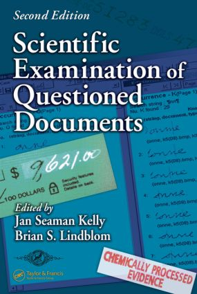 Scientific Examination of Questioned Documents book cover