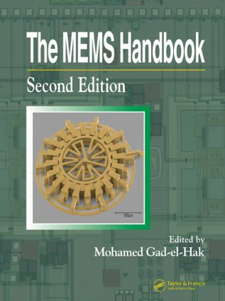 The MEMS Handbook - 3 Volume Set: 2nd Edition (Hardback) book cover
