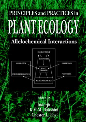 Principles and Practices in Plant Ecology: Allelochemical Interactions book cover