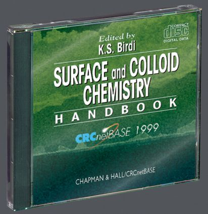 Surface and Colloid Chemistry Handbook on CD-ROM: 1st Edition (CD-ROM) book cover