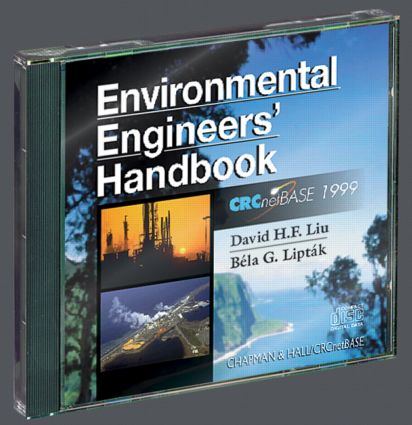 Environmental Engineers' Handbook on CD-ROM book cover