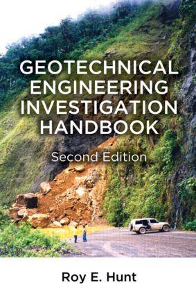 Geotechnical Engineering Investigation Handbook: 2nd Edition (Hardback) book cover