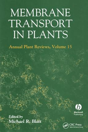 Membrane Transport in Plants Annual Plant Reviews, Volume Fifteen: 1st Edition (Hardback) book cover