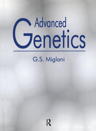 Advanced Genetics: 1st Edition (Hardback) book cover