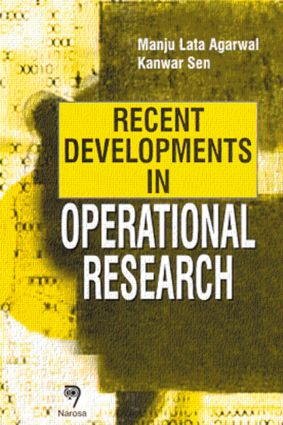 Recent Developments in Operational Research: 1st Edition (Hardback) book cover