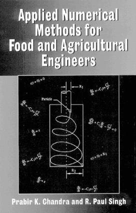Applied Numerical Methods for Food and Agricultural Engineers: 1st Edition (Hardback) book cover