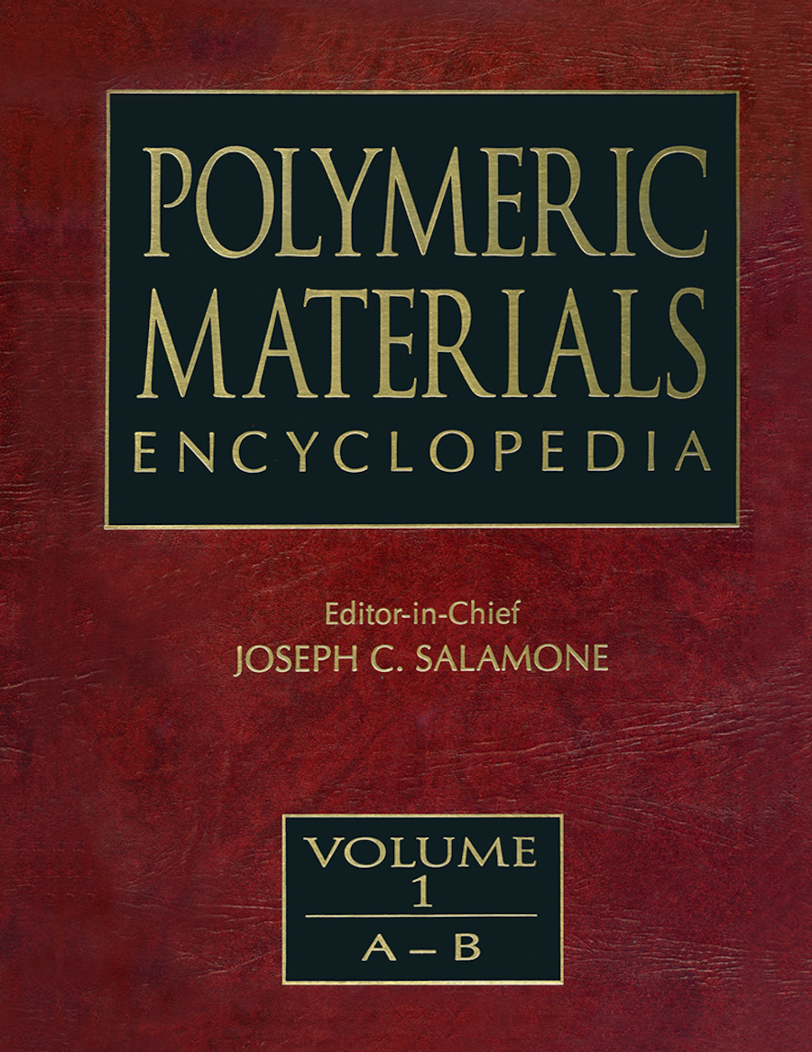 Polymeric Materials Encyclopedia, Twelve Volume Set: 1st Edition (Hardback) book cover