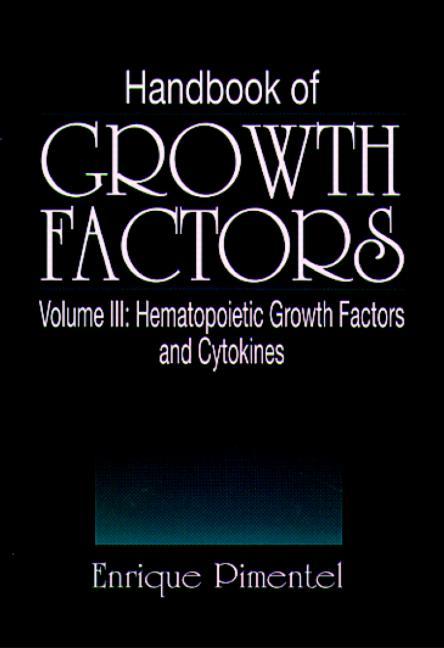 Handbook of Growth Factors, Volume 3: 1st Edition (Hardback) book cover