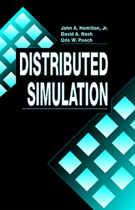 Distributed Simulation (Hardback) book cover