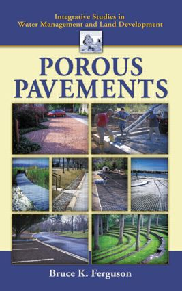 Porous Pavements: 1st Edition (Hardback) book cover