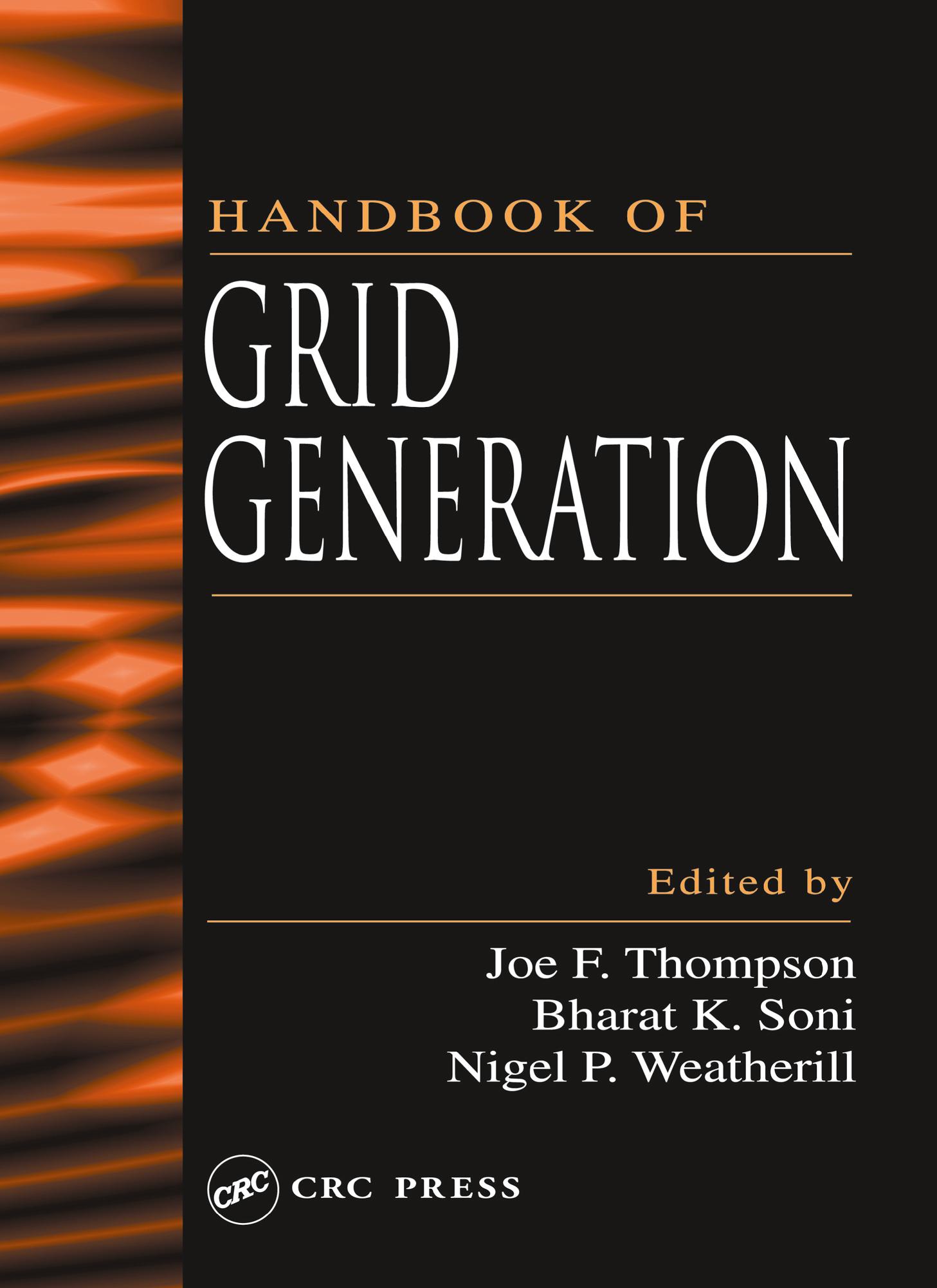 Handbook of Grid Generation: 1st Edition (Hardback) book cover