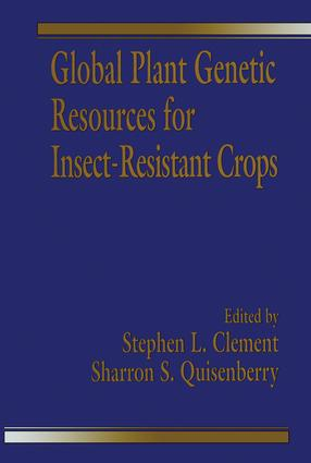 Global Plant Genetic Resources for Insect-Resistant Crops: 1st Edition (Hardback) book cover