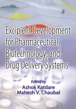 Excipient Development for Pharmaceutical, Biotechnology, and Drug Delivery Systems: 1st Edition (Hardback) book cover