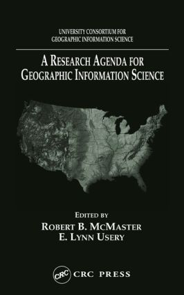 A Research Agenda for Geographic Information Science (Hardback) book cover
