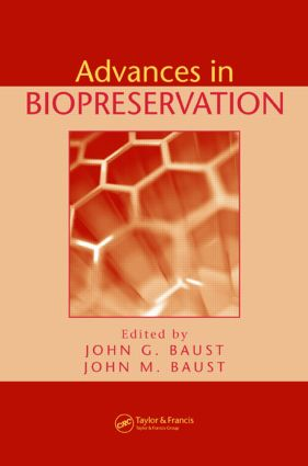 Advances in Biopreservation: 1st Edition (Hardback) book cover