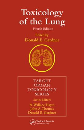Toxicology of the Lung, Fourth Edition book cover