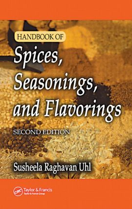 Handbook of Spices, Seasonings, and Flavorings: 2nd Edition (Hardback) book cover