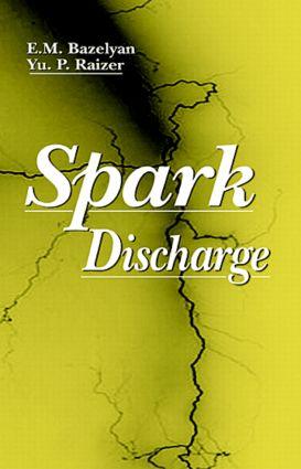 Spark Discharge: 1st Edition (Hardback) book cover
