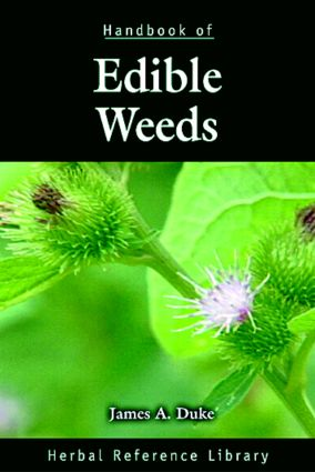 Handbook of Edible Weeds: Herbal Reference Library book cover