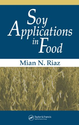 Soy Applications in Food: 1st Edition (Hardback) book cover