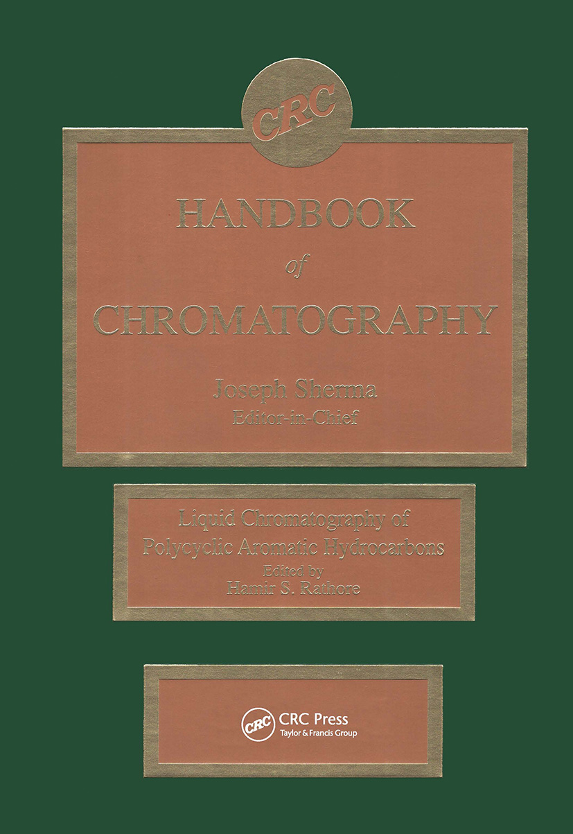 Handbook of Chromatography: Liquid Chromatography of Polycyclic Aromatic Hydrocarbons, 1st Edition (Hardback) book cover