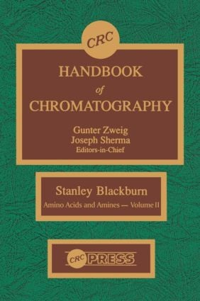 CRC Handbook of Chromatography: Amino Acids and Amines, Volume II, 1st Edition (Hardback) book cover