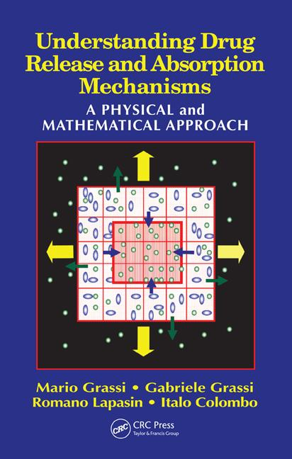 Understanding Drug Release and Absorption Mechanisms: A Physical and Mathematical Approach, 1st Edition (Hardback) book cover