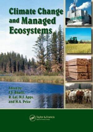 Climate Change and Managed Ecosystems (Hardback) book cover