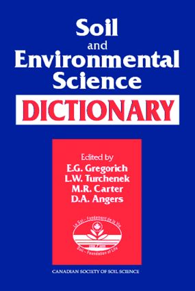 Soil and Environmental Science Dictionary: 1st Edition (Hardback) book cover