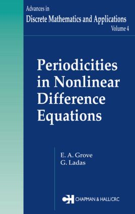 Periodicities in Nonlinear Difference Equations: 1st Edition (Hardback) book cover