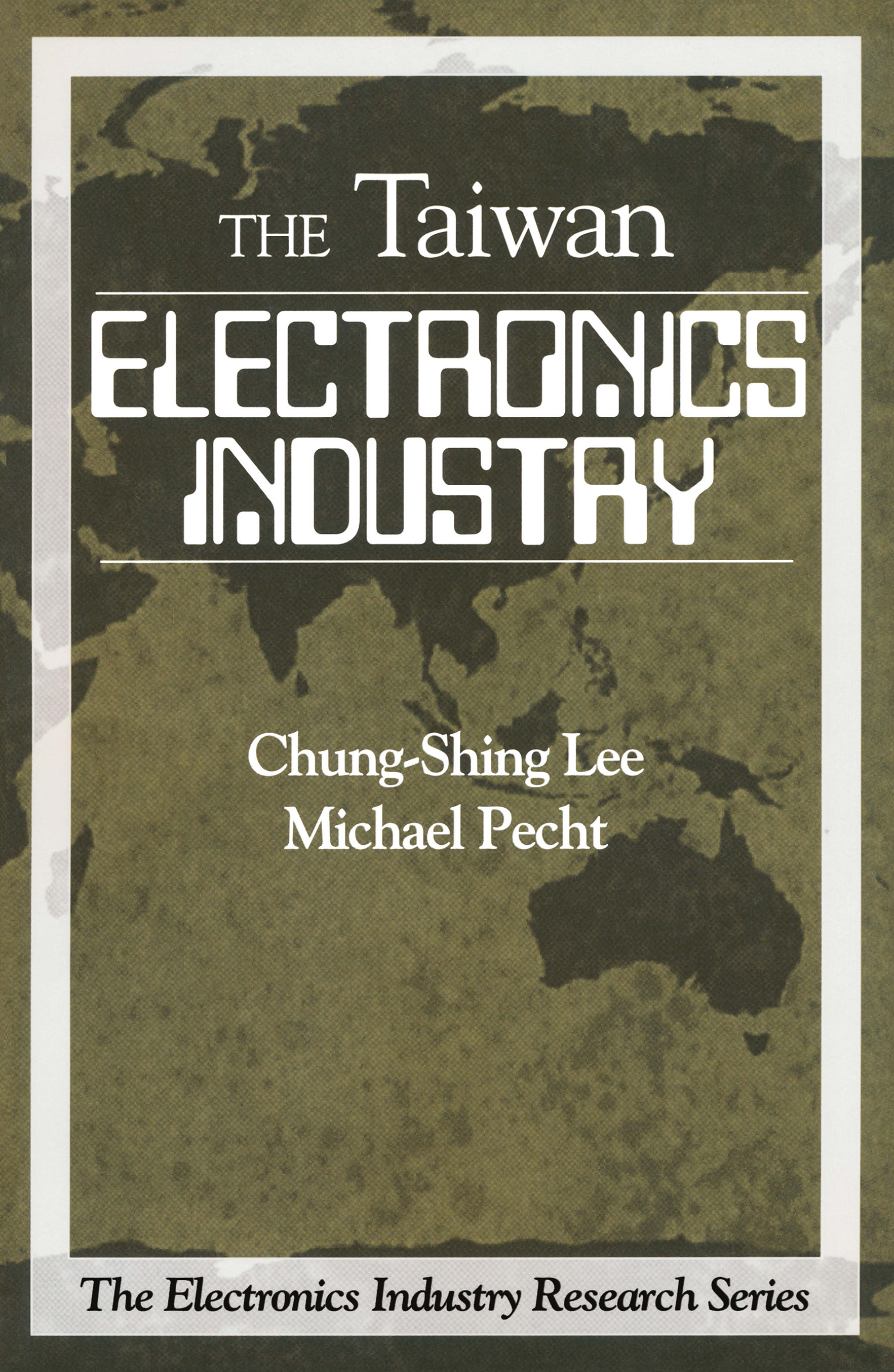 Electronics Industry in Taiwan: 1st Edition (Paperback) book cover