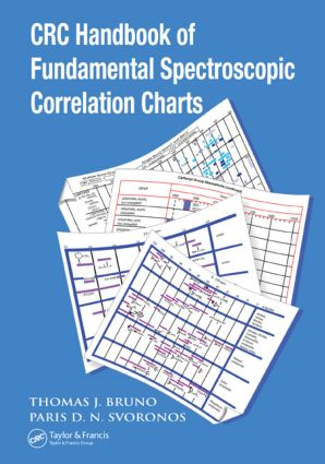 CRC Handbook of Fundamental Spectroscopic Correlation Charts book cover