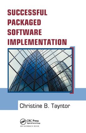 Successful Packaged Software Implementation: 1st Edition (Hardback) book cover