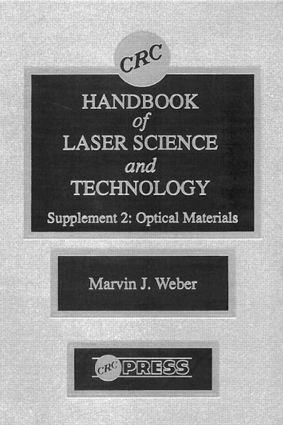 CRC Handbook of Laser Science and Technology Supplement 2: Optical Materials book cover